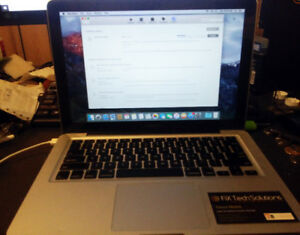 "MacBook Pro Core 2 Duo 13"" Mid-2010 El Capitan (8GB RAM 500HD)"