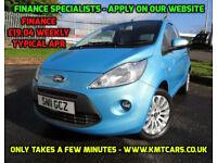 2011 Ford Ka 1.3TDCi Zetec Turbo Diesel - Road Tax @ £30 per Year - KMT Cars