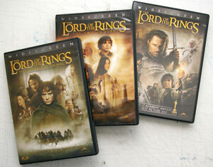 Lord of the Rings Trilogy (DVD)