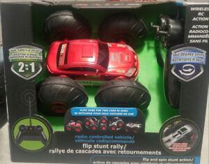 Brand new remote control stunt car
