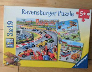 Children's puzzles  (boys) - as new