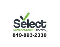 DÉMÉNAGEMENT SELECT / SELECT MOVING
