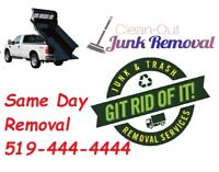 Junk Removal, Property Cleaning, Recycling, From $30