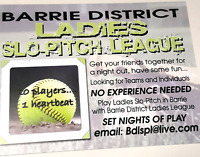 Calling all Ladies Slo-Pitch Players