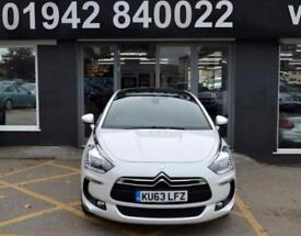 2013 63 CITROEN DS5 2.0 HDI DSTYLE 5D 161 BHP DIESEL 6SP 5DR SPORTS HATCH, WHITE