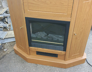 Small electric fire place  38x10x39 $50