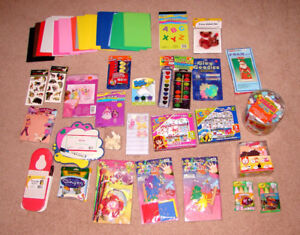 Assorted Kids Craft and Activity Items - most are NEW
