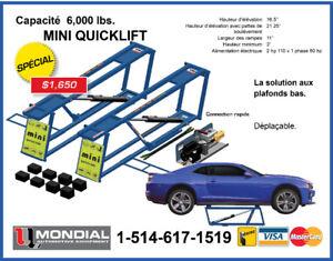 Lift jack 6000 lbs pont elevateur lift auto machine a pneu