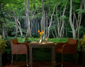 3D Fabulous HUGE Forest Wall Mural Over 13 x 9 Feet Kitchener / Waterloo Kitchener Area image 1