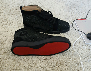 C louboutine red bottoms. Going for cheap