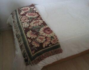 Belles jetées / couverture fleuries (2)