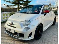 2009 FIAT ABARTH 500 1.4 TURBO FACTORY BUILT ESSESSE LIMITED EDITION 160 BHP