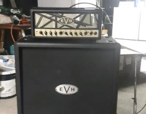 Evh el34 50watt head and 412 cab