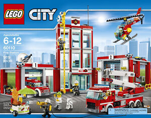 LEGO City Fire Fire Station 919-pc brandn new and sealed box
