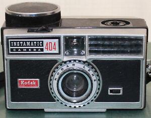 3 Vintage Film Camera's