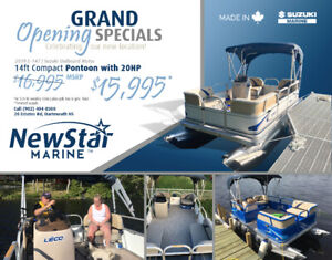Grand Opeing Special -Compact Pontoon 14Ft / 16 Ft or 18Ft -NS
