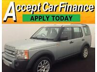Land Rover Discovery 3 2.7TD V6 auto 2008MY SE FROM £46 PER WEEK!