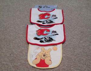 Bibs, new never used
