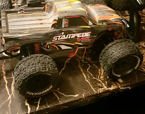 Traxxas stampede with upgrade