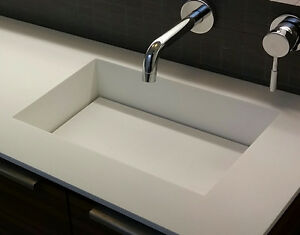 Vanity sink and counter