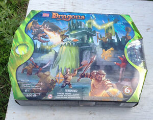 NEW IN BOX MEGA BLOCKS DRAGON & NEO SHIFTERS