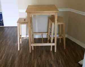 2 Person Dining Table with Stools