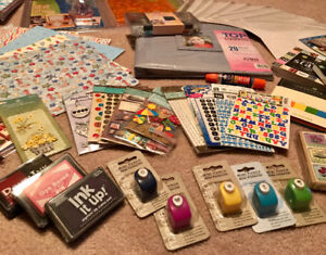 Scrapbooking Supplies - all brand new - great bundle!