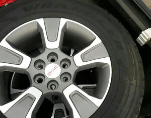 "4-17"" GM wheels(Chevy Colorado or Canyon) with tires about 30%"
