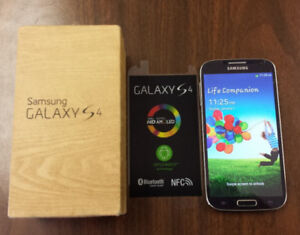 32GB SAMSUNG S4 WITH ALL ACCESSORIES+ FACTORY UNLOCKED