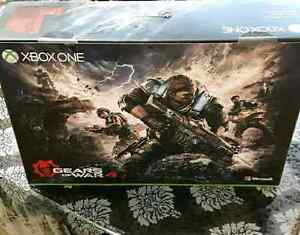 Sealed Xbox One S 2TB Gears of War 4 Special Edition BONUS GAMES
