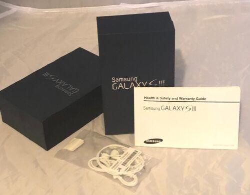 Samsung Galaxy S3 EMPTY Box Manual Blue Box 16GB