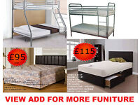NEW TRIPLE SLEEPER SINGLE BUNK BED NEGOTIABLE DINING SET DIVAN BED SINGLE DOUBLE KING SOFA BED