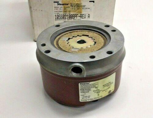 Stearns 105602100BPF Electric Brake Assy 1-056-021-00-BPF Rev A