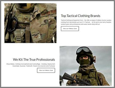 Us-military Clothing Websitefree Domainmake100 Guaranteed Or Pay Nothing