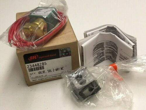 Ingersoll Rand 23448285 2-Way Solenoid Valve Asco NC 400117-25D