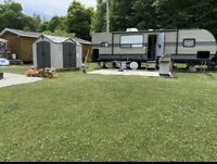 Seasonal campsite available now, Elgin Ontario