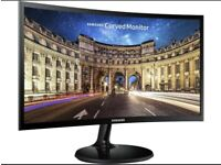 Samsung 24 inch curved LED monitor