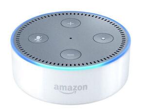 Amazon Echo Dot 2nd Generation Smart Assistant   White by Amazon