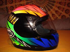 rare ARAI Quantum helmet XS new