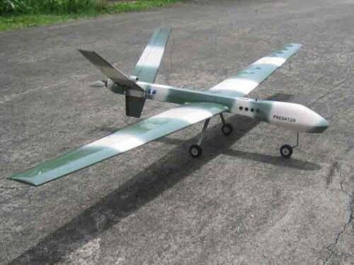 TMPro Predator UAV Spy Plane ARF