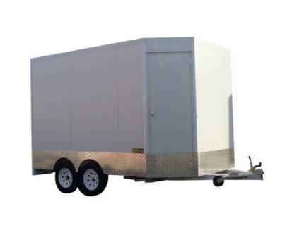 4.4 Meter long Tandem Food Van Trailer - For Sale