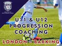 12 weeks to improve your football skills in Barking & Dagenham (U9 – U14)
