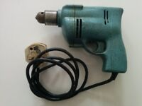 Vintage Wolf Electric Drill Model 63, 1950-60s.