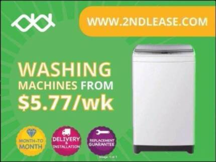 Rent washing machines from $40/Mth - No Lock-ins
