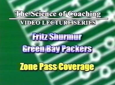 Coverage Football Dvd (Football Coaching DVD -- Zone Defense Pass Coverage -- Fritz)