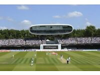 India vs England - 3rd Day Saturday- Mound Stand - Excellent View - 2 Tickets