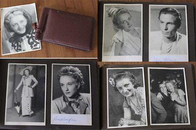 Fotoalbum Schauspielerin Senta Haefner ? 40 / 50iger Jahre mit 47 Fotos