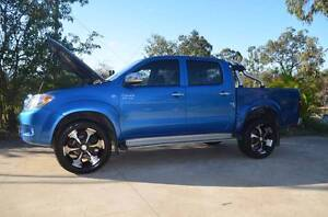 2006 Toyota Hilux Ute 4X4 DUAL CAB UTE Ipswich Ipswich City Preview