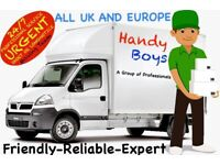 Man And Van Removals Moving Pallet Delivery Service 3.5,7.5 tonne lorry Luton truck With A Tail Lift