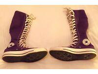 Rare Purple Converse Chuck Taylor XX Hi